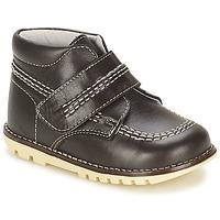Chaussures Garçon Boots Citrouille et Compagnie MELIN Marron
