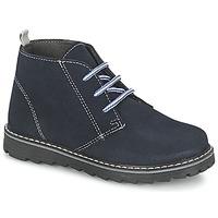 Chaussures Garçon Boots Citrouille et Compagnie LEQUIN Bleu