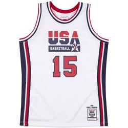 Vêtements Débardeurs / T-shirts sans manche Mitchell And Ness Maillot NBA Magic Johnson Team Multicolore
