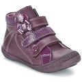 Chaussures Fille Boots Citrouille et Compagnie FALIE Violet