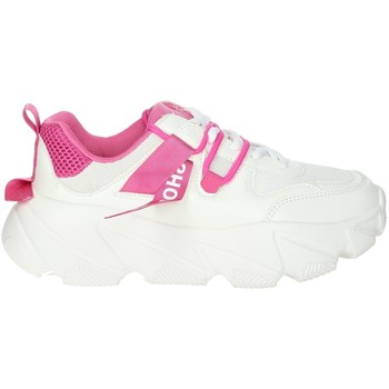 Chaussures Femme Baskets basses Shop Art SA020052 Blanc/Fuchsia