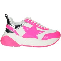 Chaussures Femme Baskets basses Shop Art SA020044FX Blanc/Fuchsia