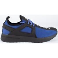 Chaussures Homme Baskets basses Versace fondo knitted Bleu