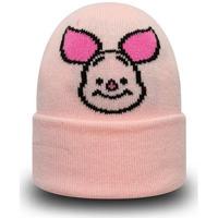 Accessoires textile Garçon Bonnets New-Era disney piglet character Rose