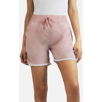 Vêtements Femme Shorts / Bermudas Kebello Short 100% coton Taille : F Rose S Rose