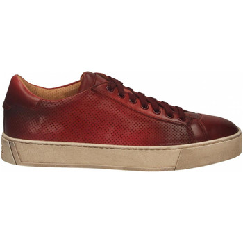 Chaussures Homme Derbies Santoni DERBY 7 OCC. FORGOOSE rosso