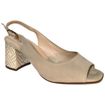Chaussures Femme Sandales et Nu-pieds Peter Kaiser Sandale 08113/487 Beige