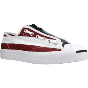 Chaussures Homme Baskets basses Converse JACK PURCELL ZIP OX Blanc