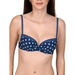 Vêtements Femme Maillots de bain séparables Lisca Haut maillot de bain préformé multipositions Linosa Bleu