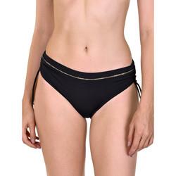 Vêtements Femme Maillots de bain séparables Lisca Bas maillot de bain côtés froncés Ancona Noir