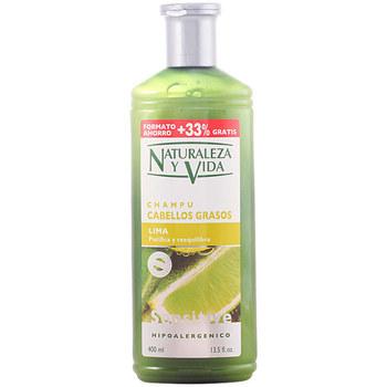 Beauté Shampooings Natur Vital Shampoing Sensitive Cabello Graso 300+100 Ml