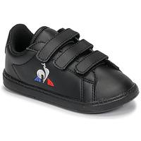 Chaussures Enfant Baskets basses Le Coq Sportif COURTSET INF Noir