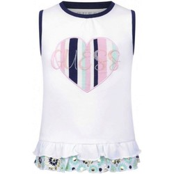 Vêtements Fille Débardeurs / T-shirts sans manche Guess K01I19K6YW0 Blanc