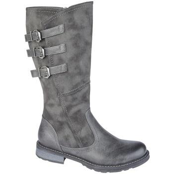 Chaussures Femme Bottes Cipriata  Gris