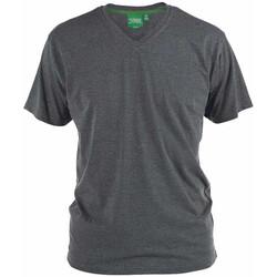 Vêtements Homme T-shirts manches courtes Duke Signature-2 Gris foncé