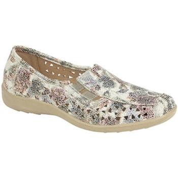 Chaussures Femme Mocassins Boulevard  Multicolore