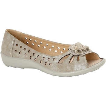 Chaussures Femme Ballerines / babies Boulevard  Or