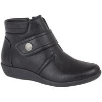 Chaussures Femme Bottines Boulevard  Noir