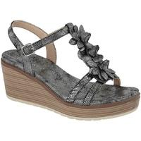 Chaussures Femme Sandales et Nu-pieds Cipriata  Gris foncé