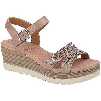 Chaussures Femme Sandales et Nu-pieds Cipriata  Rosé / Or