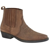 Chaussures Homme Boots Woodland Gusset Marron