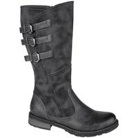 Chaussures Femme Bottes ville Cipriata  Noir