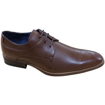 Chaussures Homme Derbies Goor  Marron Foncé