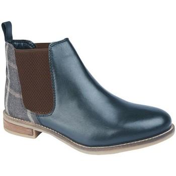 Chaussures Femme Bottines Cipriata  Bleu marine