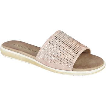 Chaussures Femme Mules Cipriata  Rosé