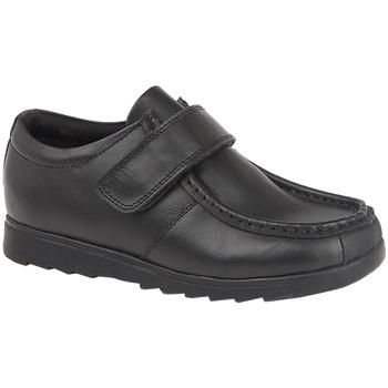 Chaussures Garçon Derbies Roamers  Noir