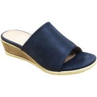 Chaussures Femme Mules Cipriata  Bleu marine