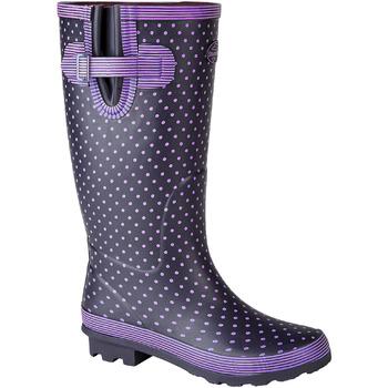 Chaussures Femme Bottes de pluie Stormwells  Violet/ Bleu