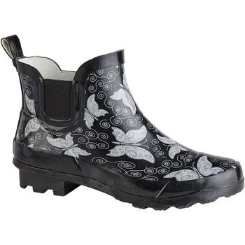 Chaussures Femme Bottes de pluie Stormwells  Noir