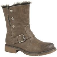 Chaussures Femme Bottes de neige Cipriata  Marron