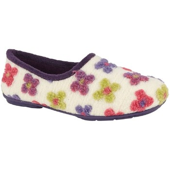 Chaussures Femme Chaussons Sleepers  Beige/ Multicolore