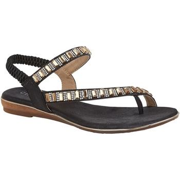 Chaussures Femme Sandales et Nu-pieds Cipriata  Noir