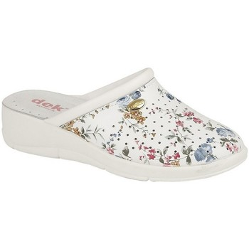 Chaussures Femme Sabots Dek  Blanc