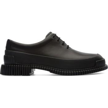 Chaussures Femme Derbies Camper Derbies à lacets cuir Pix noir