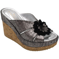 Chaussures Femme Mules Angela Calzature ANSICE1547gr grigio