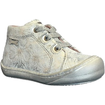 Chaussures Fille Baskets montantes Stones and Bones wave argent