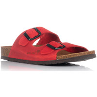 Chaussures Femme Mules Interbios 7206 Rouge