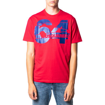 Vêtements Homme T-shirts manches courtes Dsquared S71GD0764 rouge