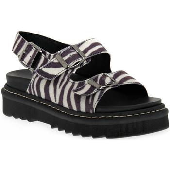 Chaussures Femme Sandales et Nu-pieds Sono Italiana SANDALO Nero