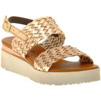 Chaussures Femme Sandales et Nu-pieds Sono Italiana LAMINATO RAME Marrone