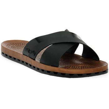 Chaussures Femme Mules Sensi 001 AMALFI NERO Nero