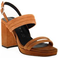 Chaussures Femme Sandales et Nu-pieds Vienty TAN JIM Marrone