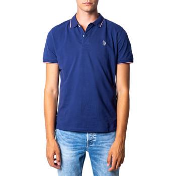 Vêtements Homme Polos manches courtes U.S Polo Assn. 41029 Blue Denim