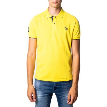 Vêtements Homme Polos manches courtes U.S Polo Assn. 41029 jaune