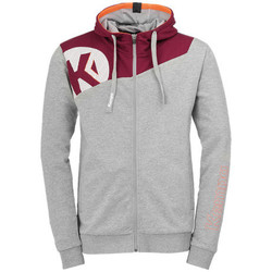 Vêtements Garçon Vestes de survêtement Kempa Veste  Core 2.0 gris foncé chiné/rouge