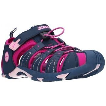 Chaussures Fille Sandales sport Joma 2003 Navy Purple Niña Azul marino bleu